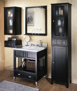 Bathroom Cabinets Espresso bathroom shelves espresso - healthydetroiter