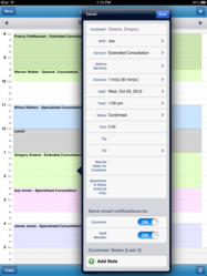 Mobile Scheduling Software App