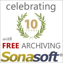 10th Anniversary Special - Free Email Archiving