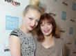 Actress Frances Fisher and daughter Francesca Eastwood attend Peace Over Violence 41st Annual Humanitarian Awards Friday, October 26, 2012