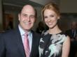 Mad Men Creator and Executive Producer Matthew Weiner with January Jones