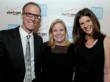 Evening honorees, The Invisible War filmmakers Kirby Dick and Amy Ziering with Susan L. Burke