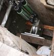 50 ton inside a manhole