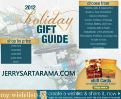 2012 Holiday Sale -Gifts For Artists