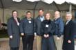 (Pictured from left to right) – Randy Pence, Gov. Rel. Counsel, ICPI; Lenny Valentino, SVP, EP Henry; Congressman LoBiondo; Marianne Anzaldo, Director of Marketing, EP Henry; Eric Long, COO, EP Henry; Charles McGrath, Executive Director, ICPI