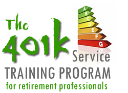 The 401k Service Training Program culminates in the Professional Plan Consultant (PPC) designation