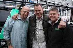 O'LYN Contractor's Mark Negron and Todd Mellor with Flipping Boston's Dave Seymour