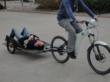 Optibikes are a low energy transport for disaster situations.