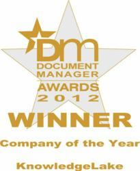 Document Manager Award Winner KnowledgeLake