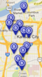 Map of B-Cycle Stations