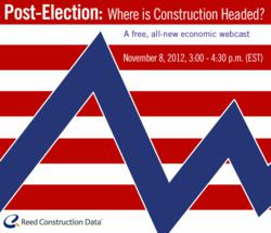 Reed Construction Data Economic Webcast - Fall 2012