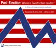 Reed Construction Data Offers Free Economic Webcast: Post-Election - Where Is Construction Headed?
