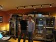 Brent Fischer with 11-time Grammy winner mixer/engineer Rafa Sardina at After Hours studio