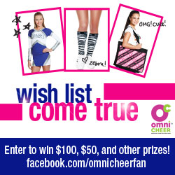 Omni Cheer Wish List Come True Sweepstakes