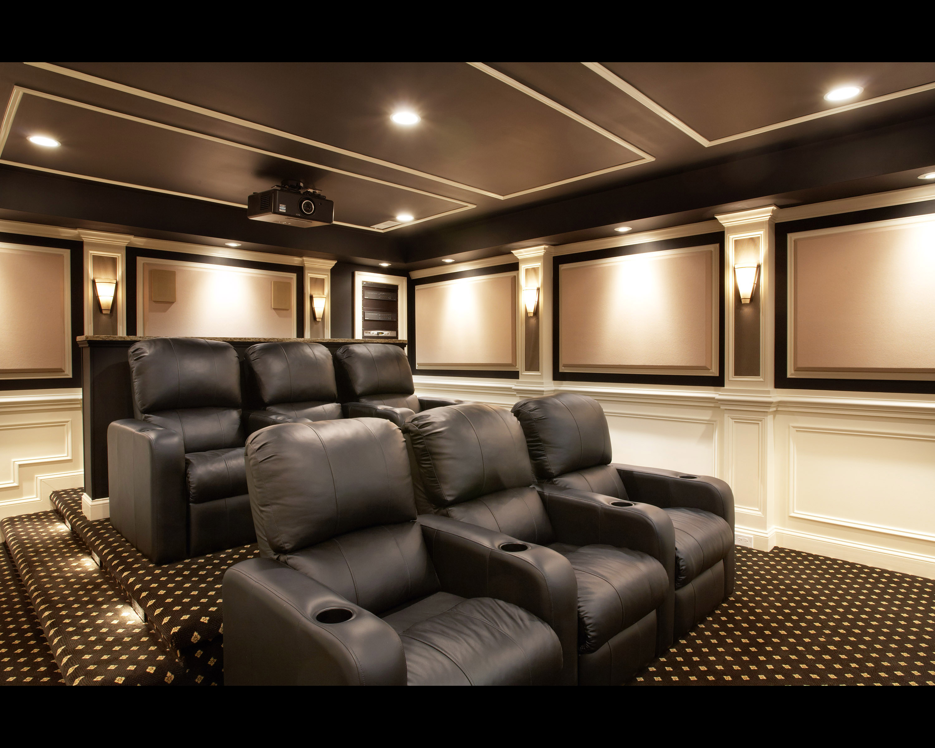 Home theatre design colors home design and style Home theater colors