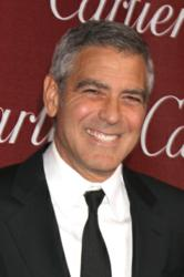 George Clooney at the Palm Spring International Film Festival