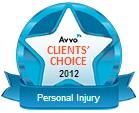 Avvo Clients' Choice Award