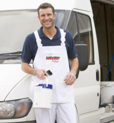 CertaPro Painter with Paint Apron