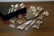 66-piece Gold-plated Flatware Set from BrylaneHome.com