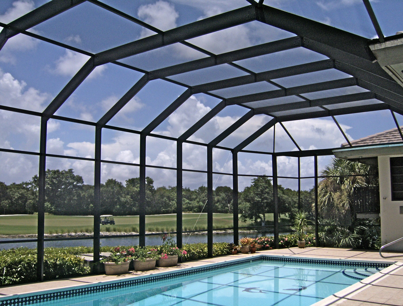 First Half Doral Screen Enclosure Sales Push Residential
