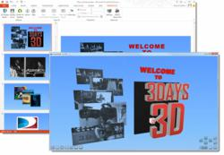 Latest version of Presente3D with custom extrusion color