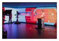 NOS Studios in the Netherlands video wall powered by a Datapath x4 set up