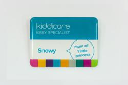 New Kiddicare colleague badges produced by Big Badges