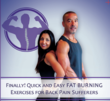 "Exercise DVD, ""Finally! Quick and Easy Fat Burning Exercises for..."
