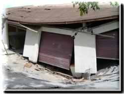 Sudden sinkhole causes costly damage to premises