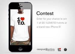CampusAuction x 1Love T.O Contest