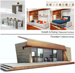 Resource furniture partners with method homes for greenbuild 2012 exposition - Goliath resource furniture ...