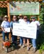 Growing Together A Giving Garden Receives a $1000 Donation from AAM.