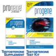 Progene Testosterone Supplement and Test Kit