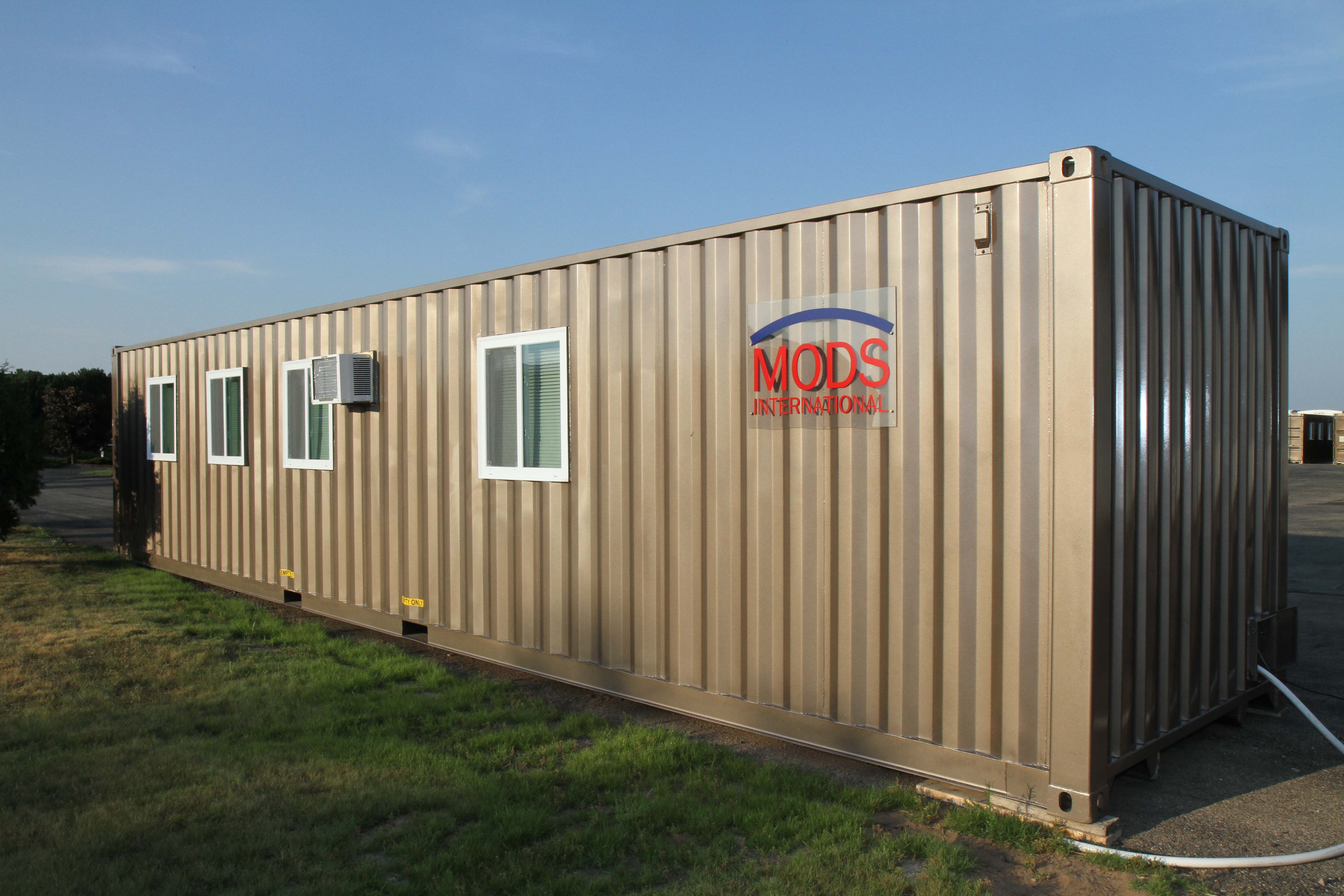Mods International Portable Housing Units Available For