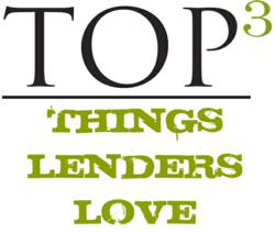 Top 3 Things Lenders Love when buying Knoxville Real Estate