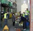 FESBAL volunteers load food donations to be distributed across all of Spain