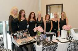 Bella Reina Spa Professionals at Indulgence Charity Event, Photo by James Greene