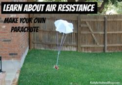 how to make a real parachute at home