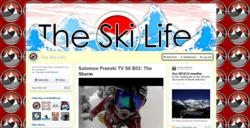 Example of the custom RebelMouse page for The Ski Life. Source: http://RebelMouseApp.com