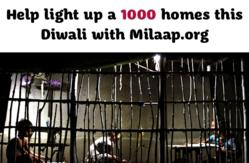 Go to www.milaap.org and bring solar lighting to a family today!