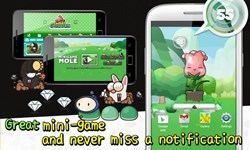 pet raising game, game widget, south korea, toast