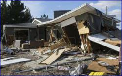 NJ house totaled by Superstorm Sandy