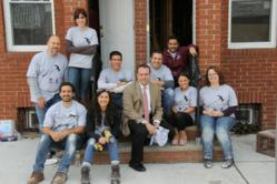 Jaffe Communications joins Habitat for Humanity Newark's first-ever Corporate Challenge.