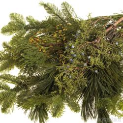 Christmas Greens, Boughs of Christmas Greens, Holiday Greens, Cedar, Pine, Blueberried Juniper