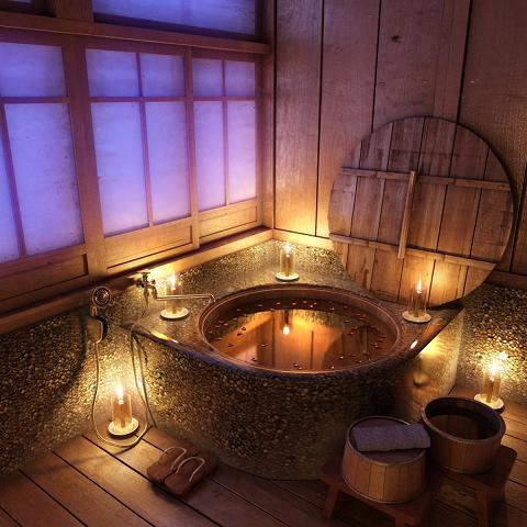Build A Japanese Soaking Tub A Japanese ofuro made out of knotty