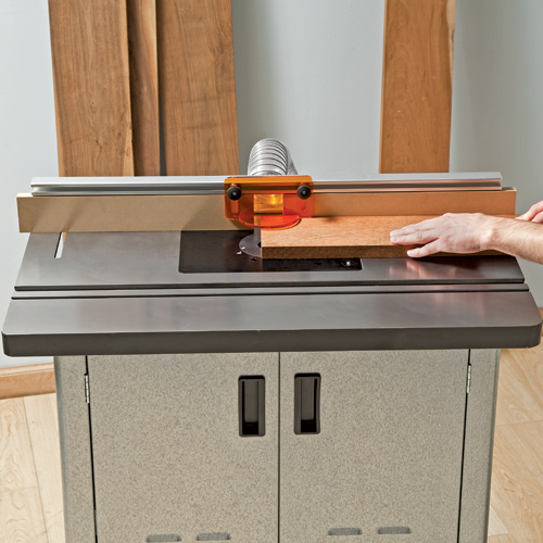 Rockler S Newly Redesigned Router Tables Exhibit Versatile