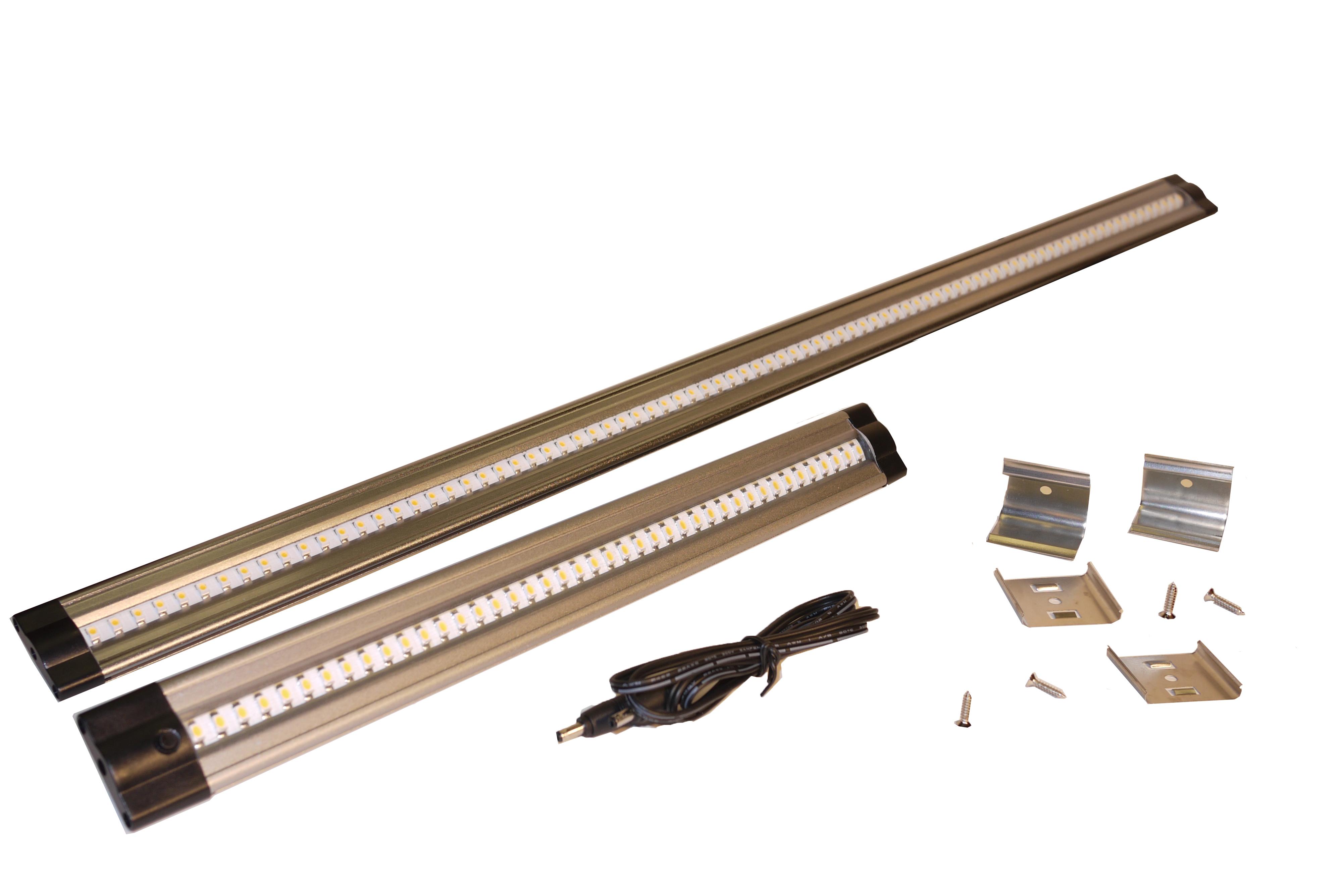 """DEKOR™ Adds 24"""" LED Under Cabinet Light Bars To Suite LED Under"""