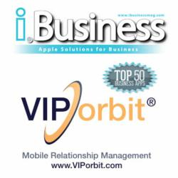 VIPorbit Named Number One Business App by i.Business Magazine