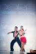 Vard Margaryan of So You Think You Can Dance with partner Sofya Fil in Dore Designs featuring Swarovski Elements