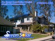 Swan Solar residential photovoltaic solar panel installation.